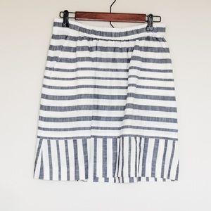 🌵 Loft Women's Stripped Skirt